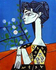 Jacqueline Çiçeklerle, 1954