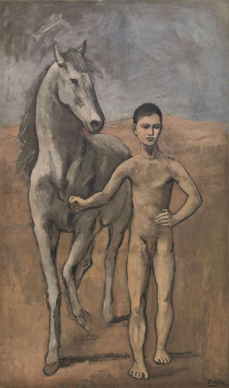 Atı Götüren Çocuk, 1905-1906 resmi