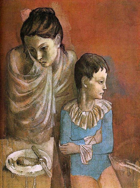 Anne ve Çocuk, 1904 resmi
