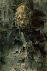 Ambroise Vollard'ın Portresi, 1909-1910