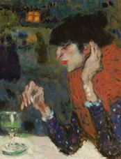Show The Absinthe Drinker, 1901 details