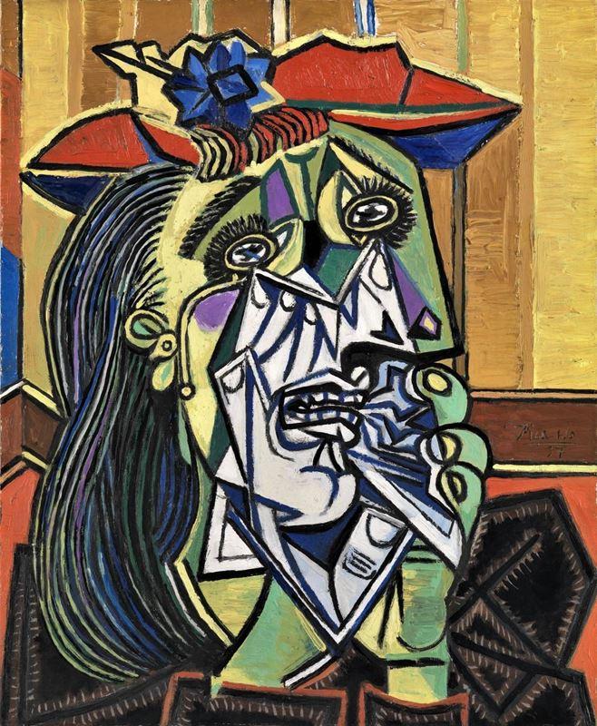 Ağlayan Kadın, 1937 resmi