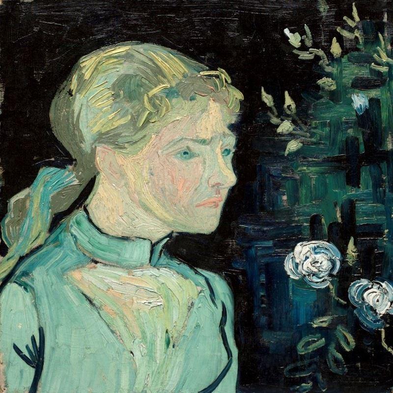 Adeline Ravoux, 1890 resmi