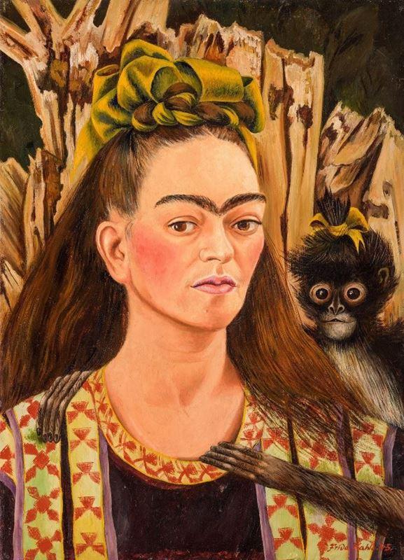 Maymunlu Otoportre, 1945 resmi
