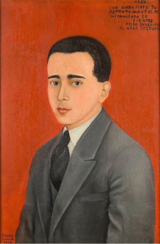 Alejandro Gómez Arias'ın Portresi, 1928 resmi