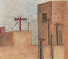 Şehir Manzarası, 1925