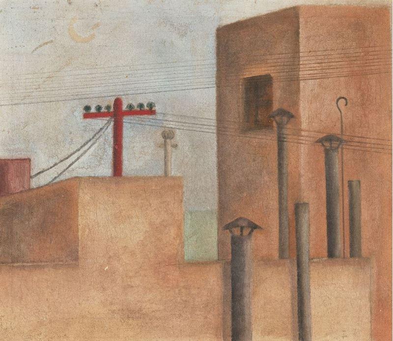 Şehir Manzarası, 1925 resmi