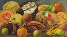 Show Still Life with Parrot and Flag, 1951 details