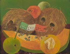 Ağlayan Hindistan Cevizleri, 1951, Panel üzerine yağlıboya, 35.56 × 42.55 cm, Los Angeles County Museum of Art, Los Angeles, ABD.