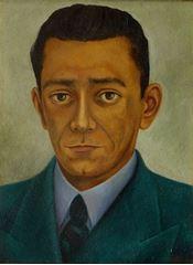 Eduardo Morillo Safa'nın Portresi, 1944, Masonit üzerine yağlıboya, 39.5 x 29.5cm, MuseoDoloresOlmedo, Mexico City, Meksika.