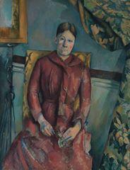 Bayan Cézanne, 1888-1890
