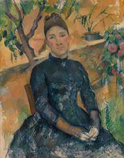 Bayan Cézanne, 1891