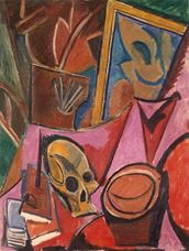 Show Composition with Skull, 1908 details
