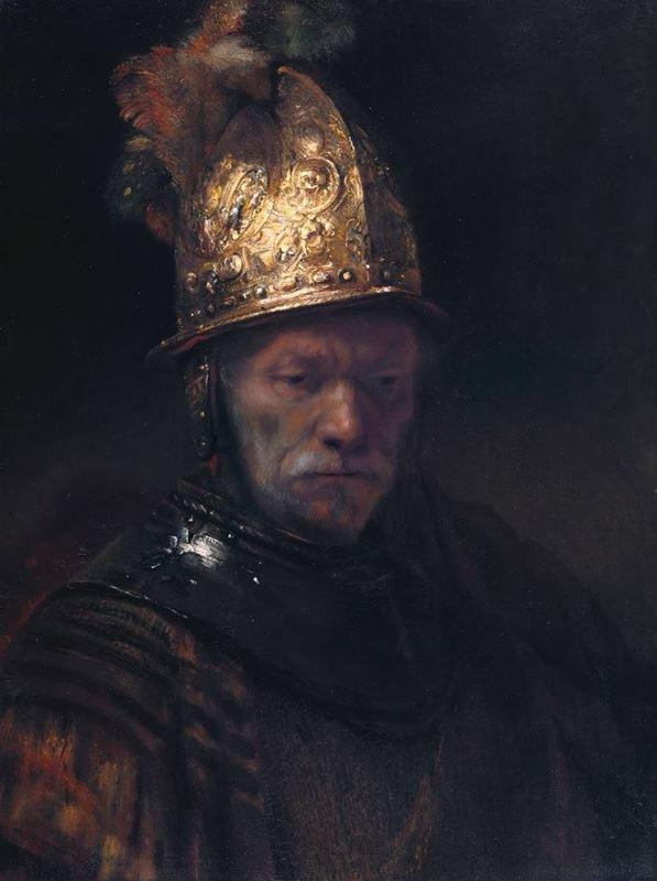 Altın Kasklı Adam, 1650-1660 resmi