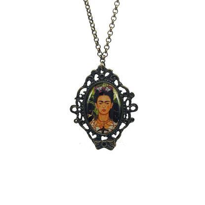 Frida - Dikenli Kolye ve Sinekkuşu ile Otoportre - Kolye