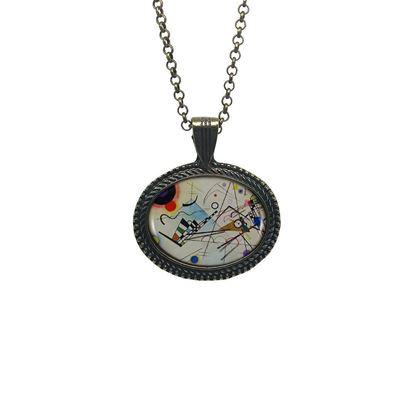 Kandinsky - Kompozisyon VIII - Kolye resmi
