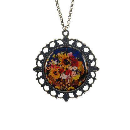 Frida - Çiçek Sepeti - Kolye resmi