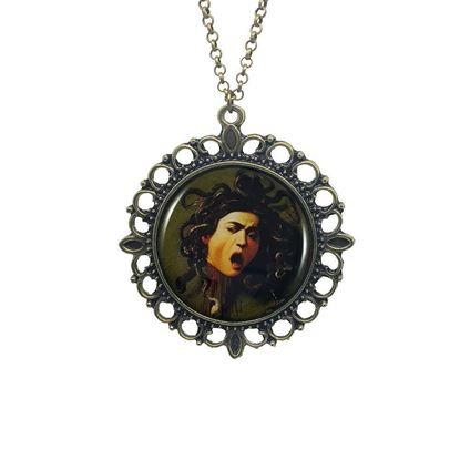 Caravaggio - Medusa - Kolye resmi