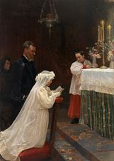 Show First Communion, 1896 details
