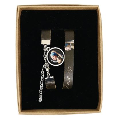 Picture of Vermeer  - Girl with a Pearl Earring - Leather Wristband