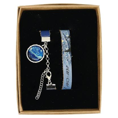 Picture of Van Gogh - Starry Night - Leather Wristband