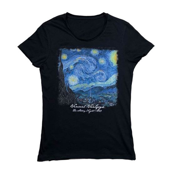 Picture of Van Gogh - Starry Night - T-Shirt