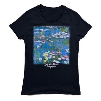 Monet - Nilüferler - Tişört resmi