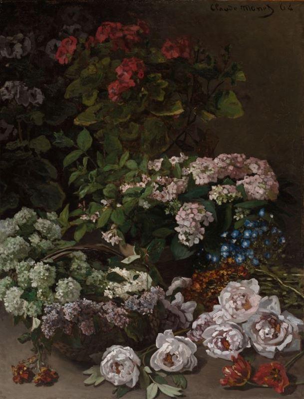 Bahar Çiçekleri, 1864 resmi