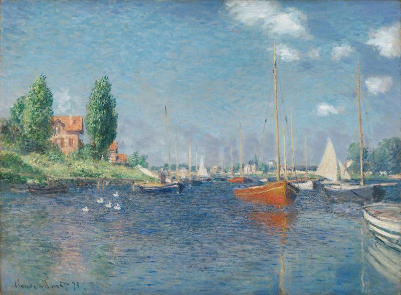 Kırmızı Tekneler, 1875 resmi
