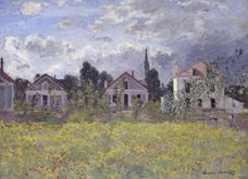 Show Houses at Argenteuil, 1873 details