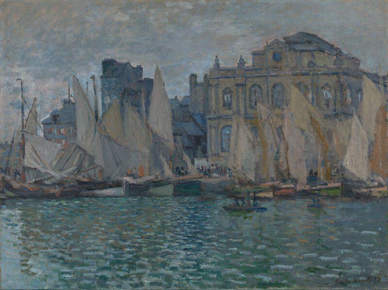 Le Havre'deki Müze, 1873 resmi