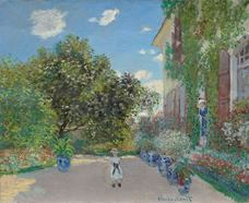 Show The Artist's House at Argenteuil, 1873 details