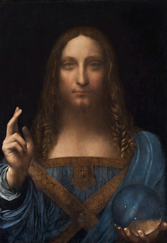 Salvator Mundi, 1500 dolayları resmi