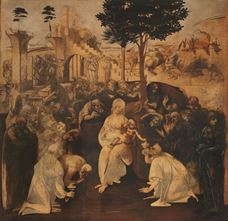 Show Adoration of the Magi, c. 1482 details