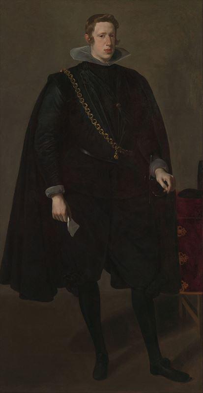 İspanya Kralı IV. Felipe, 1624 dolayları resmi