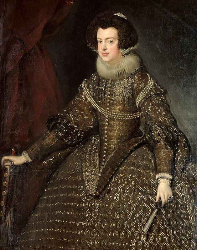 İspanya Kraliçesi Isabella, 1631-1632 resmi