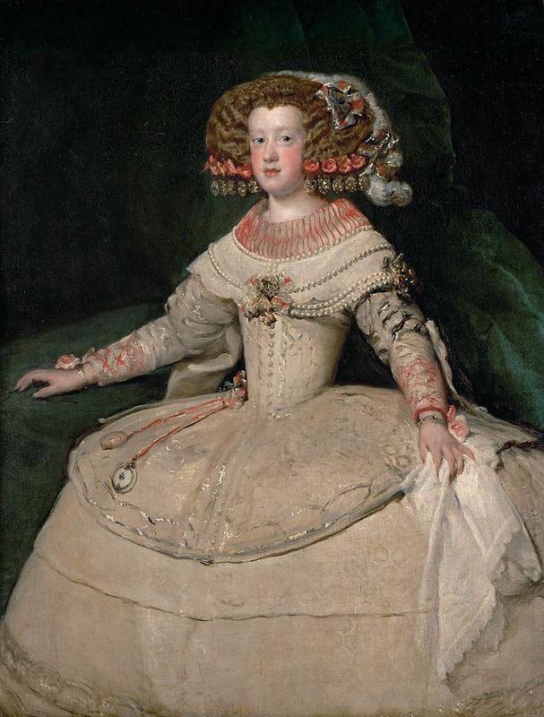 Infanta Maria Teresa, 1652-1653 resmi
