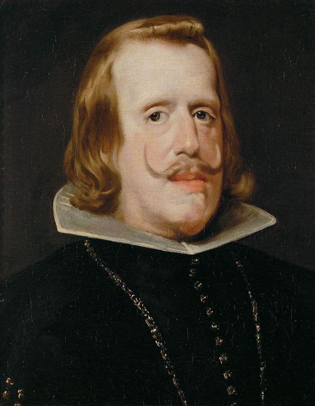 İspanya Kralı IV. Felipe, 1653-1656/1659 resmi