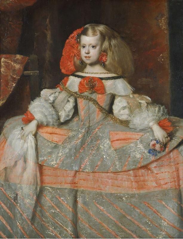 Infanta Margarita Teresa, 1661 resmi