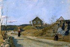 Vestre Aker'den, 1881