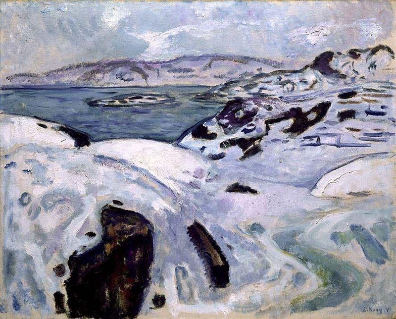 Fiyort'ta Kış, 1915 resmi