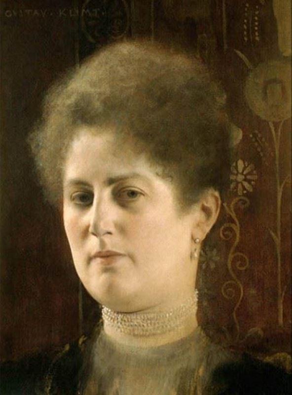 Bilinmeyen Bir Kadının Portresi (Frau Heymann?), 1894 resmi