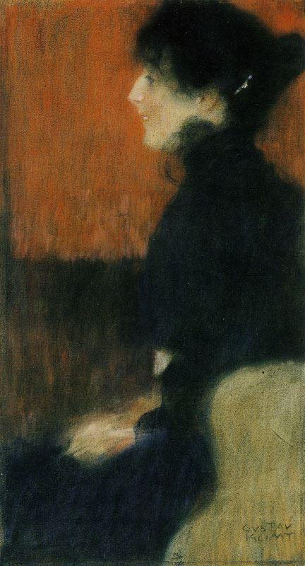 Bir Bayanın Portresi, 1897 resmi