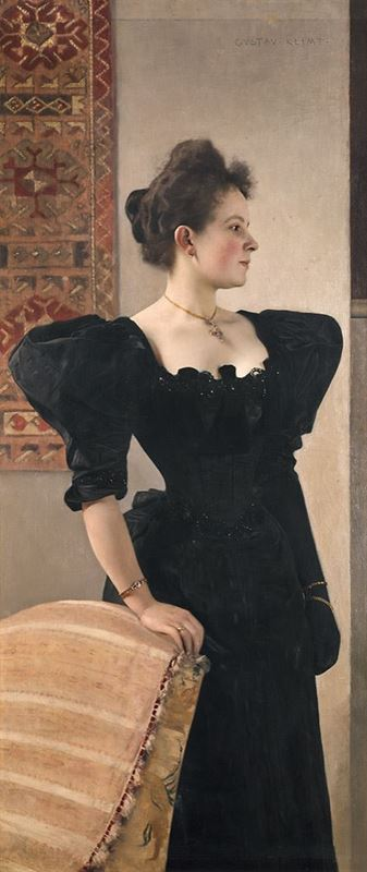 Picture for Portrait of Marie Breunig, 1894