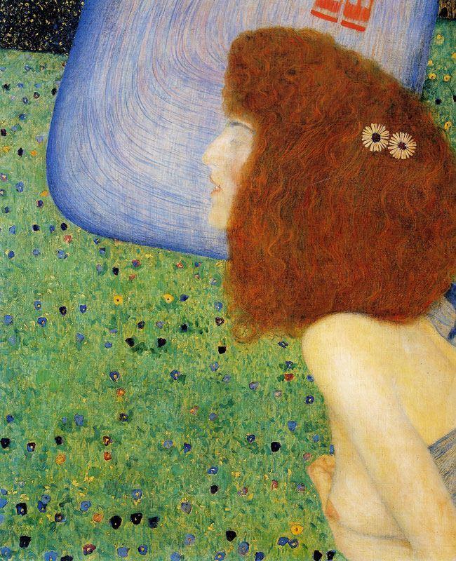 Mavi Örtülü Genç Kız, 1902-1903 resmi