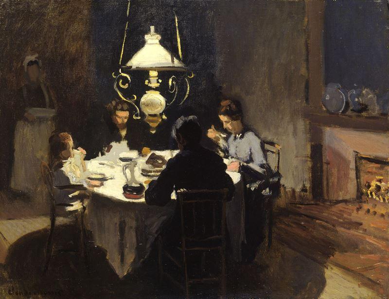 Akşam Yemeği, 1868-1869 resmi