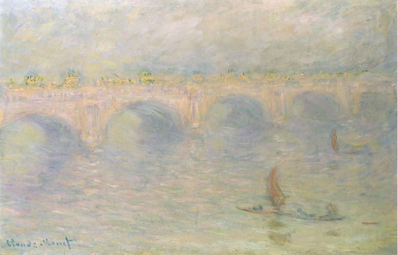 Waterloo Köprüsü, Güneş Etkisi, 1899-1901 resmi