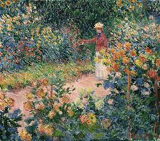 Show Monet's Garden at Giverny, 1895 details