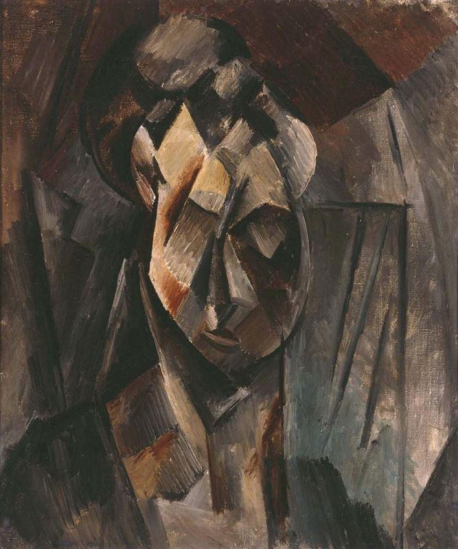 Kadın Başı (Fernande), 1909-1910 resmi