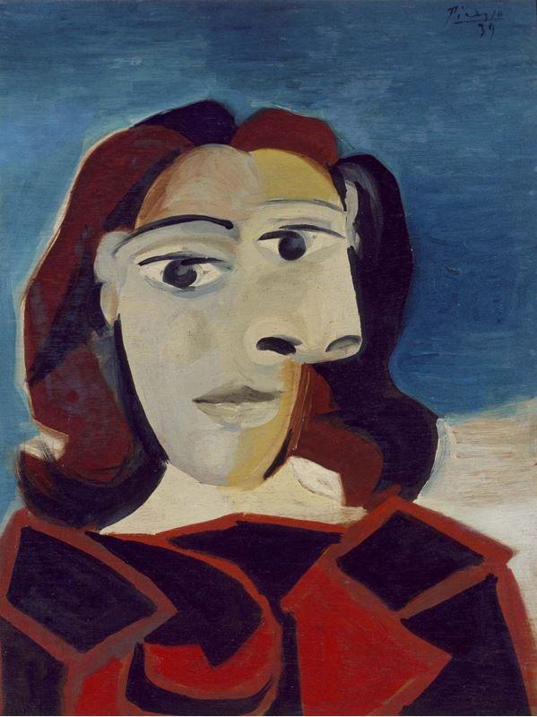 Dora Maar'ın Portresi, 1939 resmi